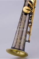 Unbranded personalizzabile Sassofono Soprano B Flat Ottone di strumenti musicali d'oro lacca chiave Sax libero di trasporto con il caso Accessori
