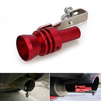 Auto Moto modifica Tuning delle turbine Whistle tubo di scarico automatico blow-off valvole turbo Whistle tubo suono del silenziatore Blow Off Valve Bov