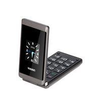 إفتح رخيصة السعر الهاتف الخليوي فليب UNIWA X28 2.8 / 1.77 بوصة وشاشة مزدوجة زر SOS وظيفة كبير