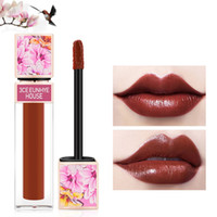 6 Farben Lipgloss Matte Lipgloss Chinoiserie Palace style wasserdichte Feuchtigkeitscreme Lip Tint Flüssiger Lippenstift-Lippen Kosmetik 3CE Eunhye Haus