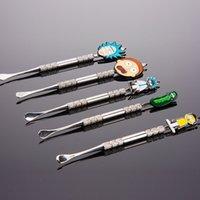 스테인레스 스틸 Dabber 도구 왁스 Dabbers 왁스 오일 Vape 도구 왁스 드라이 허브 소량 도구 유리 기억 만 선택