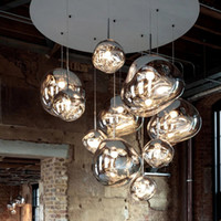 Nordic Стеклянные Лава E27 Подвесные лампы освещения Подвесные светильники для декора дома Гостиная Бар Кафе Loft кухни Светильники Hanglamp