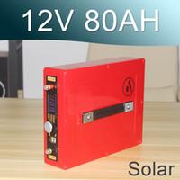 12V 100AH batería de ion de litio solar 12V Lipo recargable