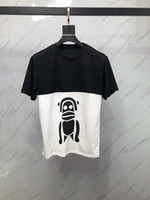 2019 Summer Fashion Men' s T Shirt Casual puppy robot mo...