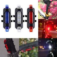 Pestelley دراجة ضوء الذيل، 5 LED USB قابلة للشحن للطقس دراجات المصابيح الخلفية دراجة السلامة مصباح الدراجات تحذير مصباح خلفي