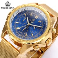 watch Business Mens Chronograph Japan Quartz Wrist es MG. ORK...