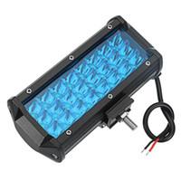Off Road SUV Kamyon 1 Adet 7 inç 144W 24 Çalışma LED Işık Bar Nokta Işın Araba Sürüş Lambası - Sarı