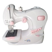 Built- in Light Mending Machine Dual Speed Double Thread Stit...