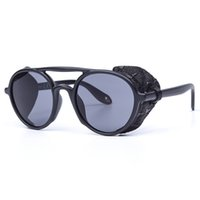 Fashion Punk Leather Cool Sunglasses Ladies Street Style All...