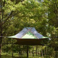 220 * 200 Suspenso Árvore Tent Ultraleve Hanging Tree House Camping Hammock Waterproof 4 Temporada Tent para Caminhadas Mochila