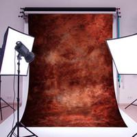 Stüdyo Fotoğraf Dikmeler fotoğrafik arka planında için 3x5ft 5x7FT Sıcak Özet Kahverengi Duvar Vinil Fotoğrafçılık Su geçirmez Arkaplan 6