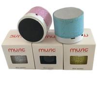 محمول A9 LED MINI بلوتوث اللاسلكية رئيس TF USB صندوق الصوت الموسيقى