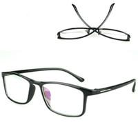 جديد TR90 الضوء الأزرق حجب النظارات مربع النظارات الإطار الأسود مكافحة بلو راي لعبة نظارات الكمبيوتر