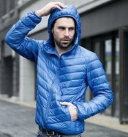 2020 الرجال سترة الشتاء 90 بطة الرجال السترة خفيفة أسفل سترة في الهواء الطلق في فصل الشتاء سترة مع حمل حقيبة