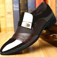 New Men' s Spring Men' s Business Shoes Men' s L...
