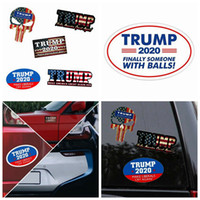جديد ترامب ملصقات عاكسة صانع السيارة أمريكا العظمى مرة أخرى 2020 ترامب الرئيس ملصقات الأمريكي دونالد ترامب السيارات راية ملصق ZZA1170-2