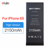 Top Quality 0 cycle Li- ion Battery For iphone 5 5C 5S 6 6S a...