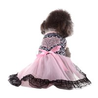 Pet Dog Lace Dress Love Heart Clothes Tutu Skirts For Small ...