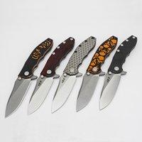 A DAI مخصص سكين صفر التسامح ZT0562 الطي سكين الملك الصلب M390 شعرية نمط التيتانيوم مقبض السلس zt 0562 أدوات edc التكتيكية