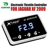 JAGUAR XF 2009 Tuning Parça Aksesuar için Araç Elektronik kısma Kontrolörü Yarışı Hızlandırıcı Güçlü Booster