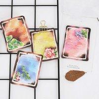 4 шт/комплект милый свежей мяты плоды голубики цветок самоклеящиеся блокнот заметки закладка школа канцелярские