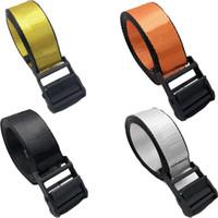 Original Gürtel für Männer und Frauen Segeltuch-Taillen Adjustable Unisex Strap Lange Mode Gürtel für Damen und Herren Drop Shipping