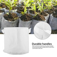 Non Woven Tree Fabric Pots Grow Bag 10 Size Root Container P...