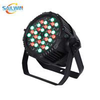 저렴한 Sailwin IP65 야외 54 * 3W RGBW 방수 LED 파 라이트 디스코 이벤트 파티 클럽