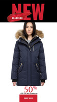 Top quality Canada Women Trillium Femme Outdoors Fur Down Jacket Hiver Thick Warm Goose Down Coat Thicken Fourrure Hooded Jacket