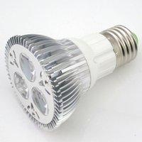 30pcs AC110 200 V Dimmable High Power 3 * 3W 9W E27 Vis PAR20 LED Ampoule à LED Blanc chaud 2700-7000k pour une utilisation en intérieur