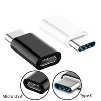 Tip C OTG Adaptörleri Mikro USB Tip C Adaptörü Samsung Xiaomi Mi 9 Huawei P30 için Şarj Kablosu Dönüştürücü