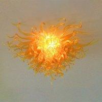 Lámparas sopladas Lámparas de oro Color de oro E14 Cristal Luz LED Bulbos Lámpara de Hogar Lámpara de techo Alto Luces de araña Iluminación AC 110-240V Rango