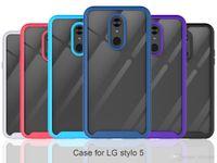 360 corpo inteiro Slim Armor Case com Case Quadro frontal para LG Stylo5 Novos casos MetroPCS