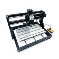 CNC 3018 PRO + Offline-Lasergrave-Holz-DIY CNC-Router-Maschine, Leiterplattenfräsmaschine, Holzrouter, Grlen-Steuerung, an Metall begehrt