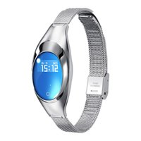 Z18 Smart-Armband-Blutdruck-Blut-Sauerstoff-Puls-Monitor-Sport-Verfolger-Uhr-wasserdichte Bluetooth-Armbanduhr für iPhone und Android