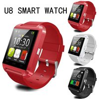 U8 SmartWatch U Watch Watch Bluetooth Smart Watch pour Samsung Sony Huawei Xiaomi Phones Android le plus pour iOS Good As GT08 DZ09 A1 GV18