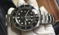 Üst Erkek Otomatik Cal.3135 İzle Erkekler Eta Siyah Seramik Çerçeve Dalış Deniz 116660 Çelik Saatler Dweller N Fabrika 126660 Perpetual Saatı