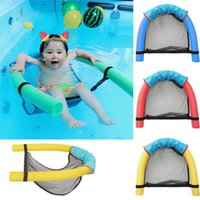 Enfants Bébé Piscine Mesh Float Chair Plage Fun Fun Mousse Sling Seat Chair Bar Piscine Sécurité Jaune Rouge Bleu