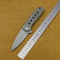 DICORIA 팔콘 접는 칼 M390은 Titannium 핸들 전술 서바이벌 나이프 사냥 캠핑 캠핑 드릴 블레이드 EDC 도구를 칼