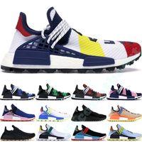 2019 Human Race BBC стилиста обувь Pharrell Williams Hu кроссовки Солнечный пакет Oreo многоцветный NERD женщин людей гольф кроссовки 36-47