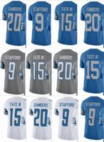 New Arrival. Lions 9 Matthew Stafford 20 Barry Sanders 15 Golden Tate Men  Women Youth Vapor Untouchable Color Rush Custom Elite Football Jersey 97df28ca8