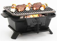 Uncoated Gusseisen Barbecue Grill Eisenplatte Holzkohle BBQ Grill Outdoor Home Heizung Feuerherd Anpassen Feuerleistung Tischplatte BBQ3-4People 104