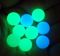 Mini 6 mm 8 mm de cuarzo Terp perla luminosa que brilla perlas de colores pelota redonda Para 10mm 14mm 18mm cuarzo Banger Nails plataformas petrolíferas bongs de vidrio