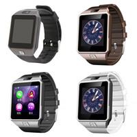 DZ09 Smart Bluetooth Watch WristWatch Sim Slot Inteligente Telefone Móvel Relógios Touch Screen para Smartphone com pacote