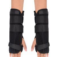 Suporte de pulso ajustar liga cinta pulseira pulseira fratura fratura carpo túnel esporte starr rato mão pulseira de mão