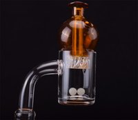 Popular Pattern Quartz Banger with spin carb cap and dab ter...