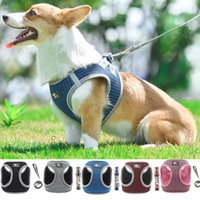 Reflective Cat Harness And Leash Set Nylon Mesh Kitten Puppy...