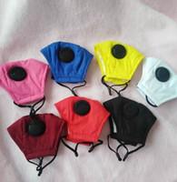 çocuk ağız nefes Vana çocuklar Yüz Maske Yıkanabilir Can KULLANIMI Filtre LJJK2344 ile PM2.5 Ağız Kapak Koruyucu Pamuk Maskeler maskelemek