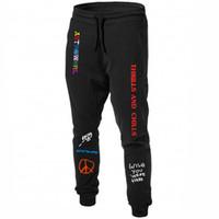Scott Astroworld pantalons de survêtement lettre pantalon de survêtement d'impression T-shirt Mode hommes Joggers Pantalons Pantalons Casual