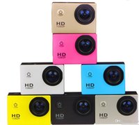 Kostenloser Versand DHL-Freestyle 2Inch LCD 1080P Full Action-Kamera 30 Meter Wasserdichte DV Sporthelm SJCAM DVR0001